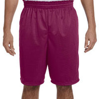 100% Polyester Tricot Mesh Short