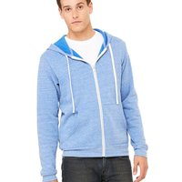 Unisex Triblend Full-Zip Sweatshirt