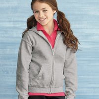 Heavy Blend™ Youth Full-Zip Hooded Sweatshirt