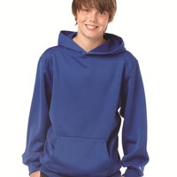 BT5 Youth Moisture-Management Hooded Sweatshirt