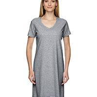 Ladies' Fine Jersey Crossover V-Neck Coverup