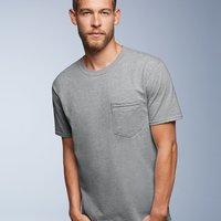 Midweight Short Sleeve T-Shirt With a Pocket