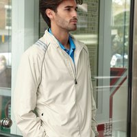 ClimaProof® Three-Stripe Full Zip Jacket