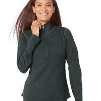 Ladies' French Terry Quarter-Zip Pullover