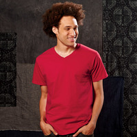 Fruit of the Loom Adult Heavy Cotton HDV-Neck T-Shirt