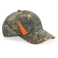 Camo Cap With Blaze Trim