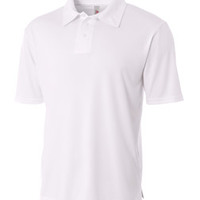 Youth Circular-Knit Performance Polo