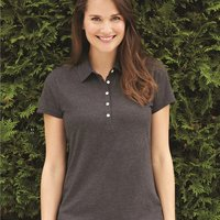 Women's Heather Jersey Sport Shirt