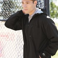 Hooded Full-Zip Wind Jacket