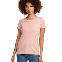 Ladies' Ideal Short-Sleeve Crew Tee