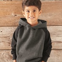Toddler Special Blend Raglan Hooded Pullover Sweatshirt
