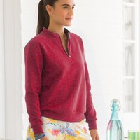 Women's SofSpun® Quarter-Zip Sweatshirt
