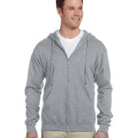 8 oz., 50/50 NuBlend® Fleece Full-Zip Hood