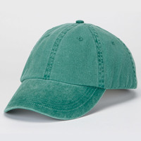 Solid Low-Profile Pigment-Dyed Cap
