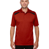 Eperformance™ Men's Tempo Recycled Polyester Performance Textured Polo