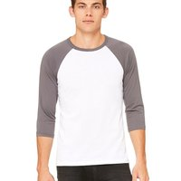 Unisex Three-Quarter Sleeve Baseball Raglan