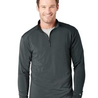 Poly/Spandex 1/4 Zip Lightweight Pullover