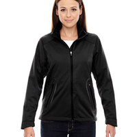 Ladies' Splice Three-Layer Light Bonded Soft Shell Jacket with Laser Welding