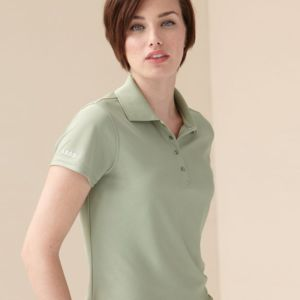 Women's Performance Pique Sport Shirt with Snaps Thumbnail