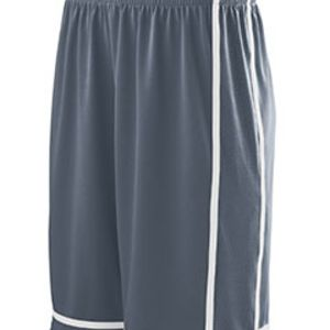 Youth Wicking Polyester Shorts with Mesh Inserts Thumbnail
