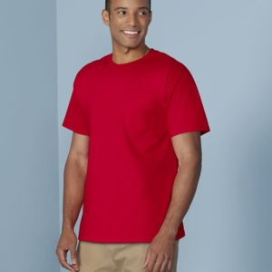 Heavy Cotton T-Shirt with a Pocket Thumbnail