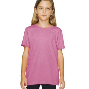 Youth Poly-Cotton Short Sleeve T-Shirt Thumbnail